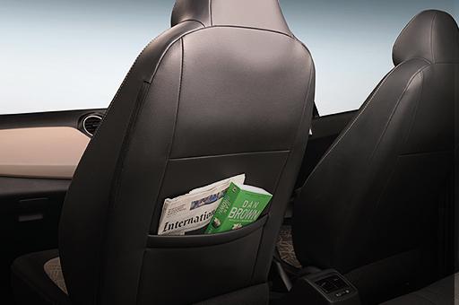 Sistema de almacenamiento (bolsillo del asiento)