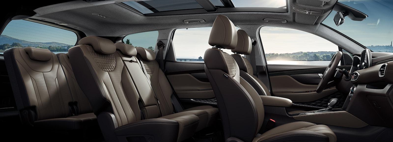 Hyundai Santa Fe Interior Honduras detalle