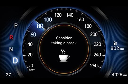 Advertencia de Atención al conductor (DAW)