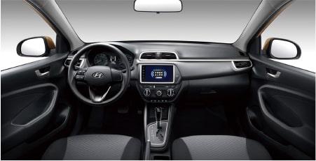 Verna Hyundai honduras detalle interior
